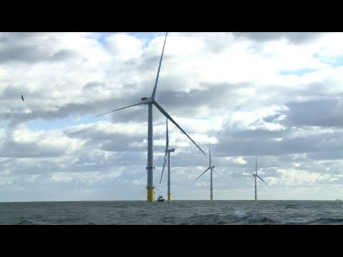 World's largest offshore wind turbines set to start generating