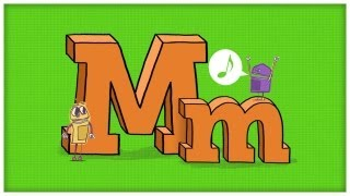 """ABC Song: The Letter M, """"The Mighty M"""" by StoryBots 