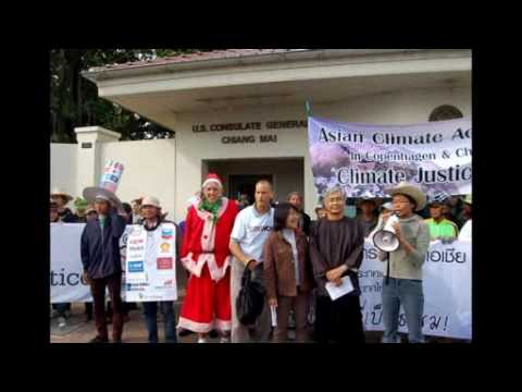 Climate Change - people's action in Chiang mai, Thailand (NCCN)