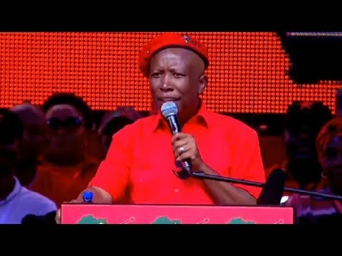 EFF CIC Malema delivers election manifesto launch keynote address