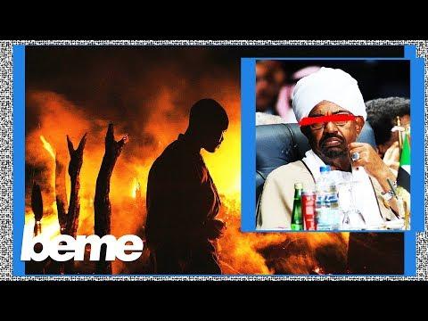 An uprising in Sudan