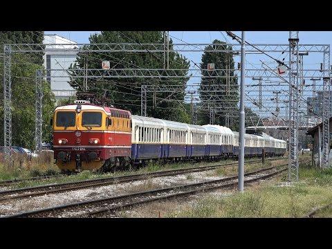 Special train - Isonzó Expressz 2015 - passing through Zagreb (Croatia)