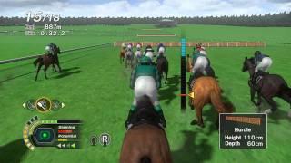 CHAMPION JOCKEY: G1 JOCKEY & GALLOP RACER (E3 2011) GAMEPLAY #2