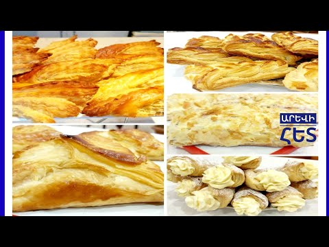 6  Շքեղ գաթանների կտրվածքներ: 6 ВАРИАНТОВ СЛОЕК ВЫПЕЧКИ.6 Layers For Baking.#Нарезка гати.