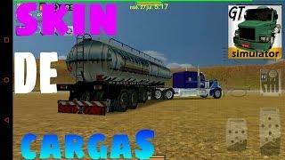 Como personalizar skin de cargas para grand truck simulator (GAMEPLAY)