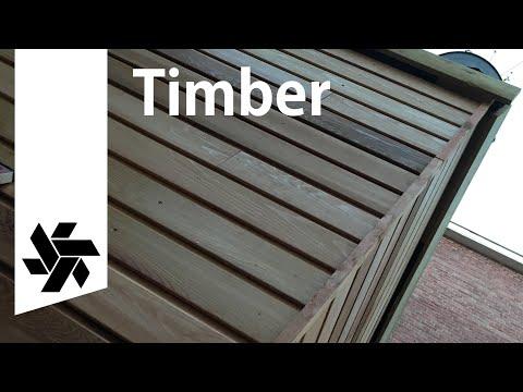 Timber Frame & Cladding // DIY Garage Extension
