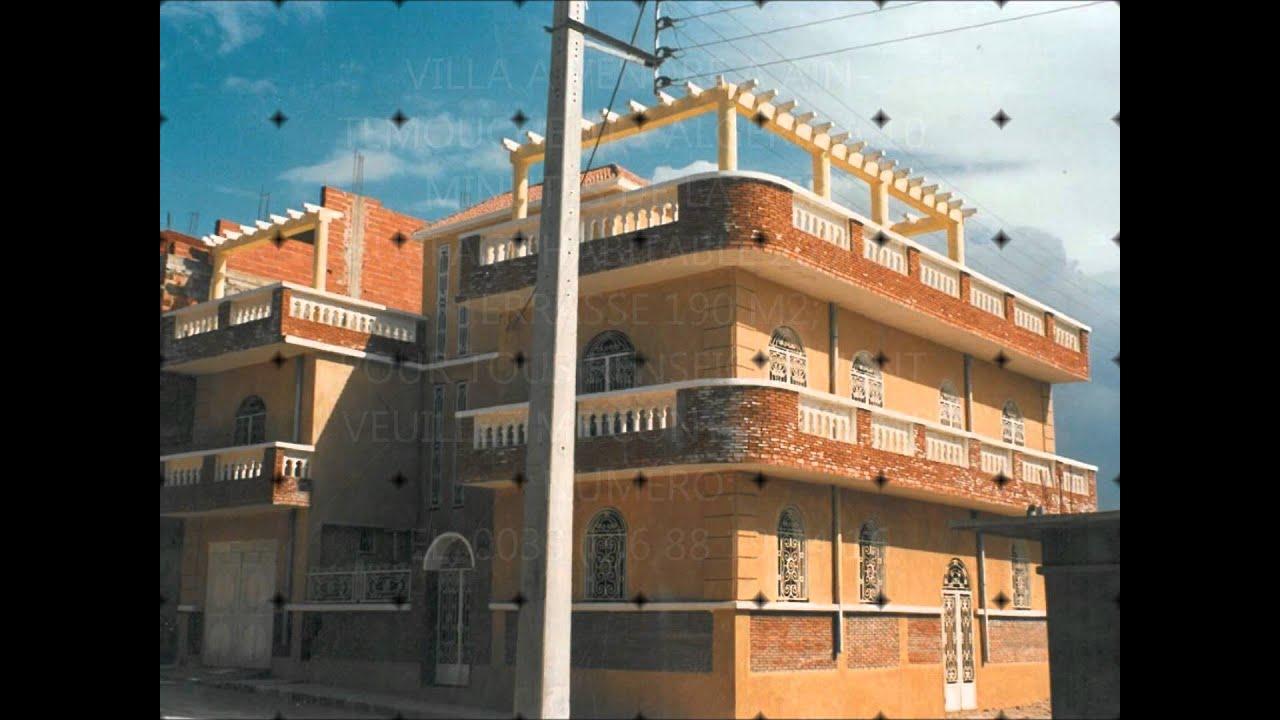 Villa ain tmouchent algerie youtube for Plan de maison algerie 200m2