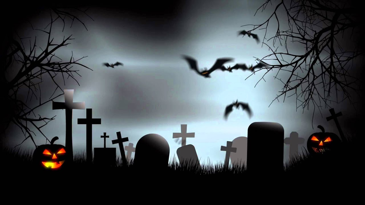 halloween graveyard background after effects template youtube. Black Bedroom Furniture Sets. Home Design Ideas
