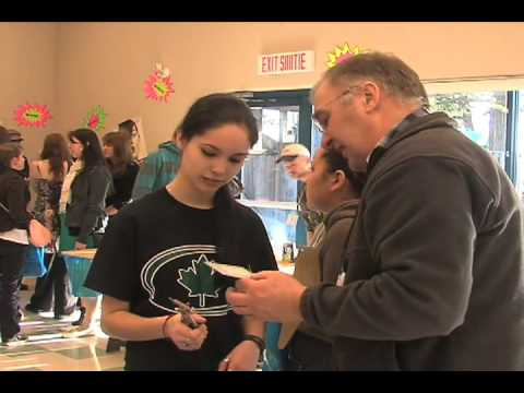 Comox Valley Education and Career Fair - Tour Guide Centre
