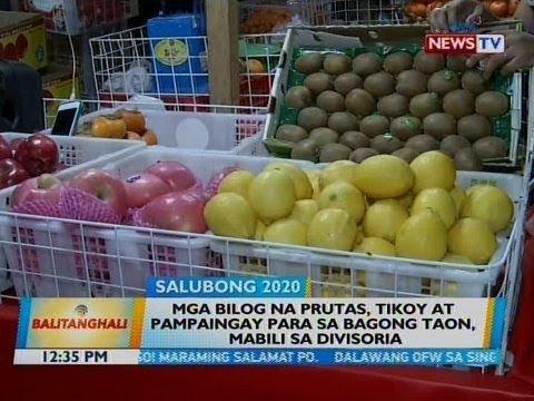 Bt: Mga Bilog Na Prutas, Tikoy At Pampaingay Para Sa Bagong Taon, Mabili Sa Divisoria