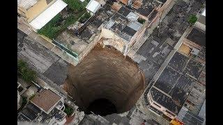 Дыры в Земле: Загадка дыр в Гватемале. Черные дыры Гватемалы. Фото. Видео.