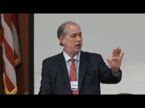 Palestra de Ciro Gomes no Brazil Conference Harvard