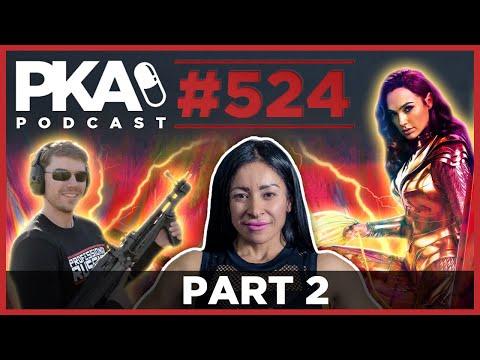 PKA 524  Part 2   FPS Russia Behind the Scenes, Wonder Woman 1984, Female Bodybuilders2