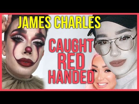 JAMES CHARLES CAUGHT RED HANDED WITH ARTIST'S WORK (EXCLUSIVE) NIKITA + JOUER COSMETICS FOUNDATION!