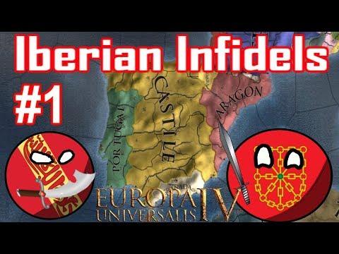 EU4 - CASTILLE ATTACKS ALREADY?! - Iberian Infidels - Episode 1