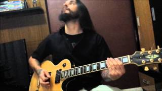 Megadeth-Train Of Consequences (guitar cover)