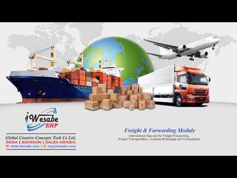 iWesabe Freight Forwarding Module