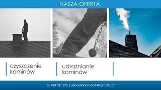Usługi kominiarskie czyszczenie kominów Kalisz Usługi Kominiarskie Sebastian Broda