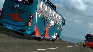 Unique Bus Non AC | Hino AK J1 | Bangladeshi BUS mod With PRO BD MAP | ETS2