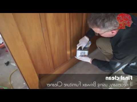 Woodworking # 78 - DIY How to Refinishing wood panelling - woodworking