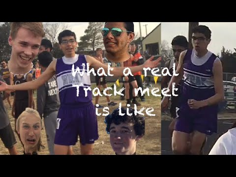 Here's what track meets are really like ~ Track Vlog