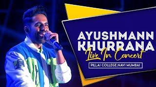 Ayushmann Khurrana singing Oh Oh Jane Jaana | Pillai College