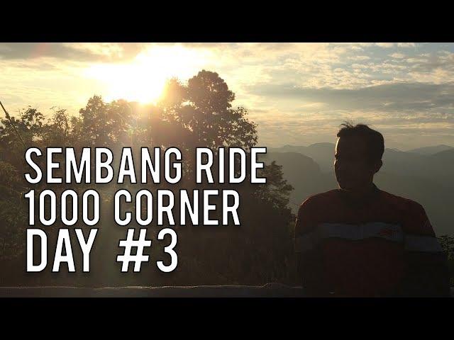 #34: Diari Kembara : Ride 1000 Corner Day 3  ||  Motovlog Malaysia