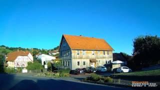 D: Markt Geroda. Landkreis Bad Kissingen. Ortsdurchfahrt. Augu…