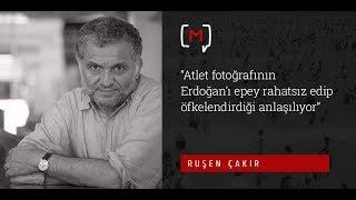"""Ruşen Çakır: """"Atlet fotoğrafının Erdoğan'ı epey ra"""