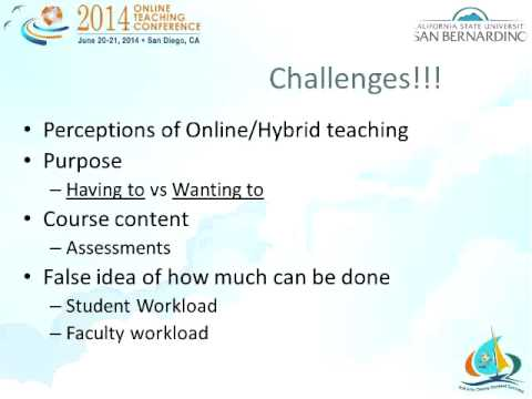 How to Collaborate with Faculty when Developing an Online Course (OTC14)