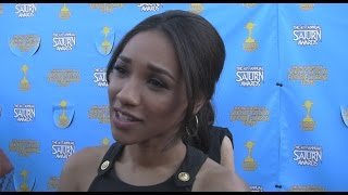 Candice Patton Talks THE FLASH at the 2015 Saturn Awards