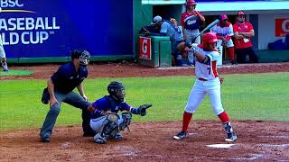 Highlights: Chinese Taipei v Dominican Rep. U-15 Baseball World Cup 2018