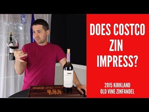 2015 Kirkland Signature (Costco) Old Vine Zinfandel Red Wine Review