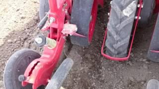 newholland td65d ile şakalak diskli mibzer sırta mısır ekimi  1