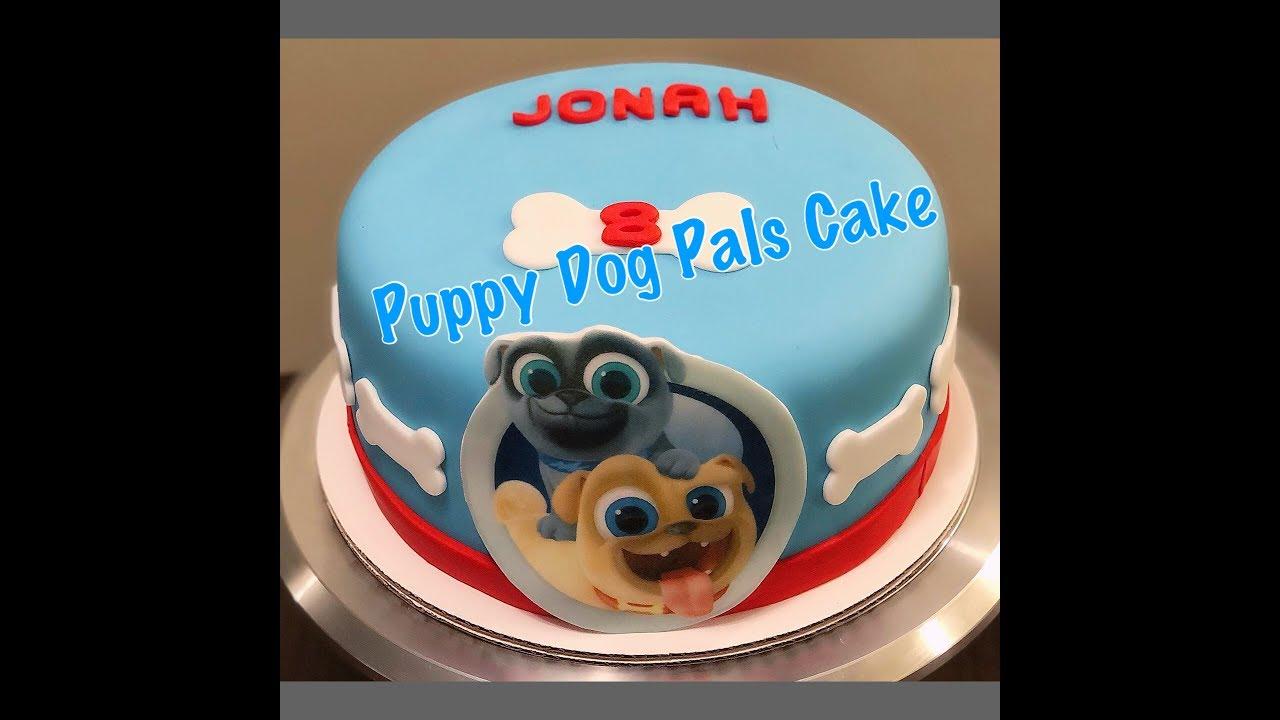 Diy Puppy Dog Pals Cake Youtube