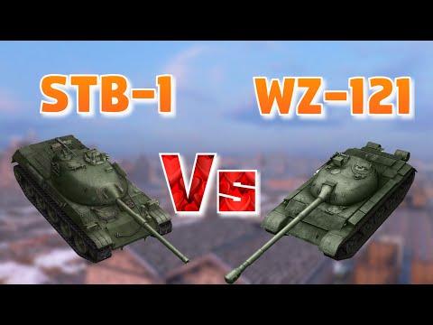 НА ЗАБИВ#13 | Комфорт или Уникальность | STB-1 или WZ-121 | WoT Blitz | Zlobina Liza