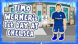 🔵TIMO WERNER's 1st DAY AT CHELSEA!🔵 (Not Liverpool)