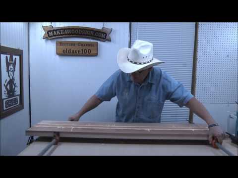 #191 Gluing Up - Laminating Big Boards For a Large Sign