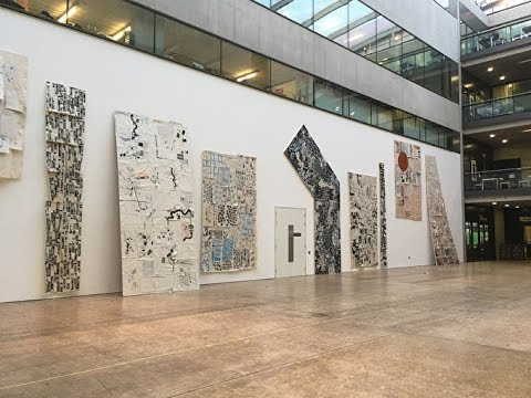 The White Wall Project Winning Installation Time Lapse At Central Saint Martins Liquitex