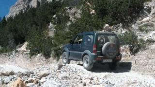Suzuki Jimny off-road