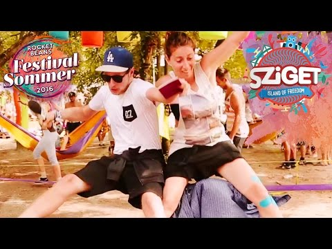 Sziget Festival - The Island of Freedom | Musik, Farben & di