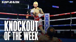 Knockout of the Week | Joesph Adorno vs Adriano Porfirio Ramirez