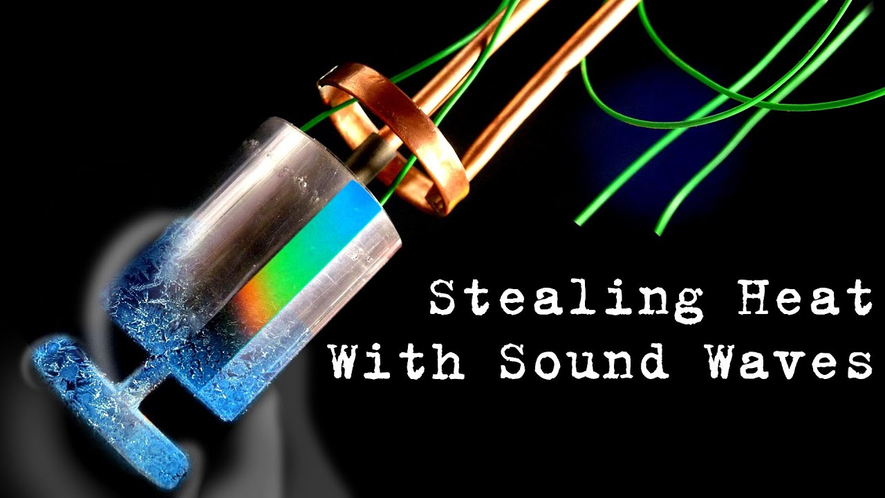 Acoustic Cooling & Heat Manipulation with Sound