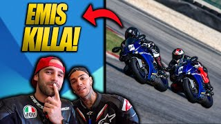 EMIS KILLA for the (very) FIRST time ON TRACK! (HE SURPRISED ME!)
