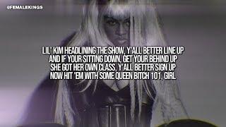 Lil' Kim - Queen Bitch 101 (Lyrics Video)