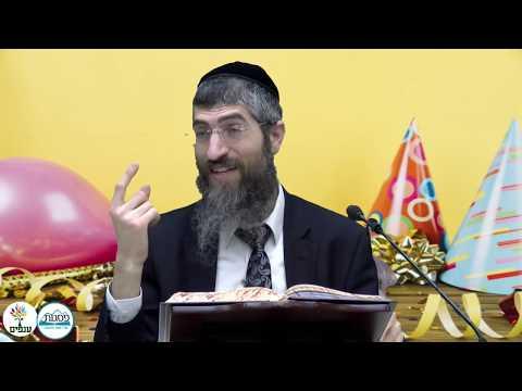 פורים: שמחה בפורים - הרב יצחק יוסף  HD - שידור חי
