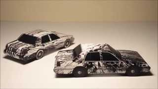 JCARWIL PAPERCRAFT Splash Artwork Cars 2012