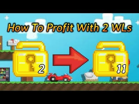 How To Get Rich With 2 WLS   Growtopia