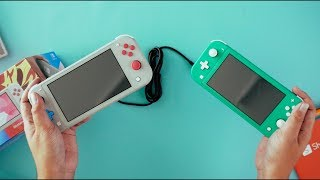 Unboxing Nintendo Switch Lite - Zacian & Zamazenta Edition