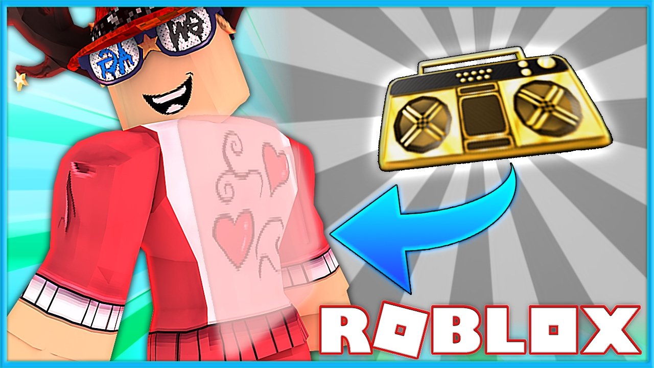 Como Poner Musica Boombox Backpack Roblox How To Remove Your Radio In Murder Mystery 2 Roblox Youtube